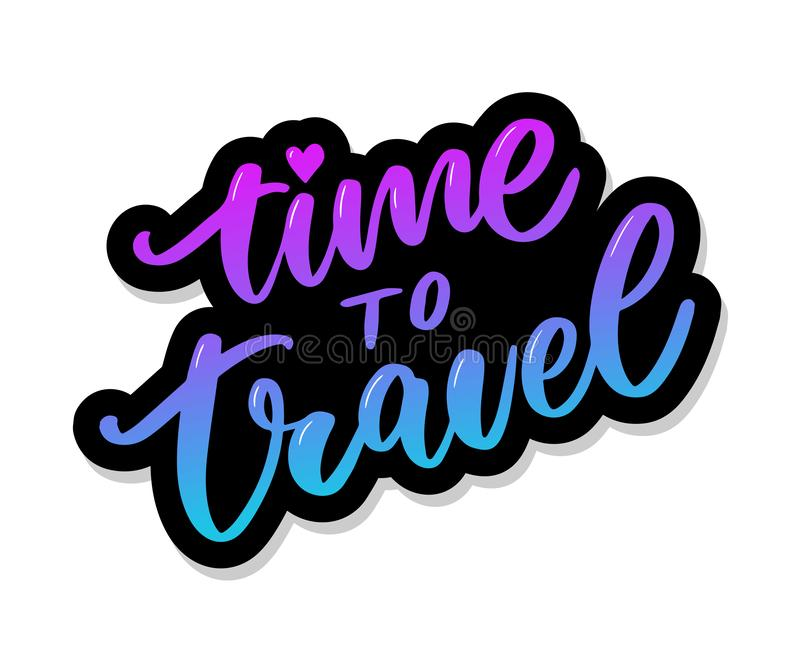 Travel life style inspiration quotes lettering. Motivational typography. Calligraphy graphic design element. Collect moments Old. Ways wont open new doors. Lets stock images
