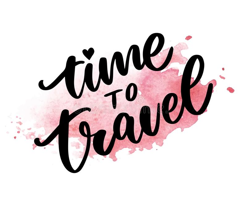 Travel life style inspiration quotes lettering. Motivational typography. Calligraphy graphic design element. Collect moments Old. Ways wont open new doors. Lets vector illustration