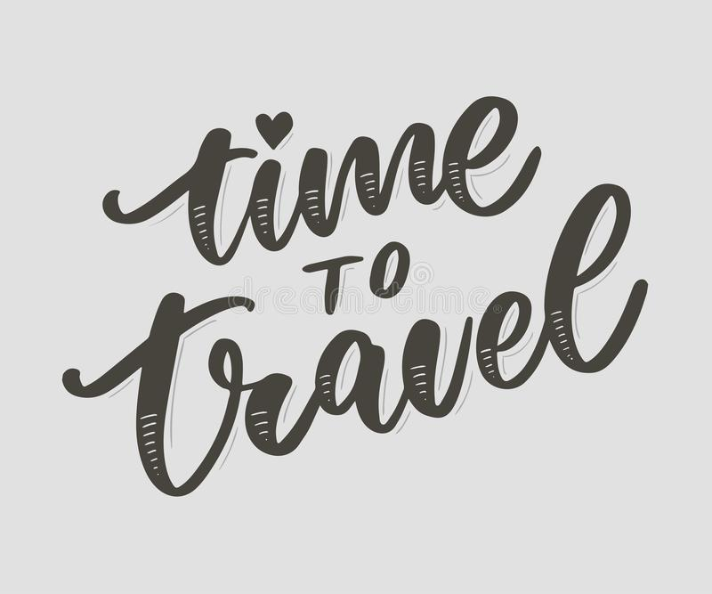 Travel life style inspiration quotes lettering. Motivational typography. Calligraphy graphic design element. Collect moments Old. Ways wont open new doors. Lets stock illustration