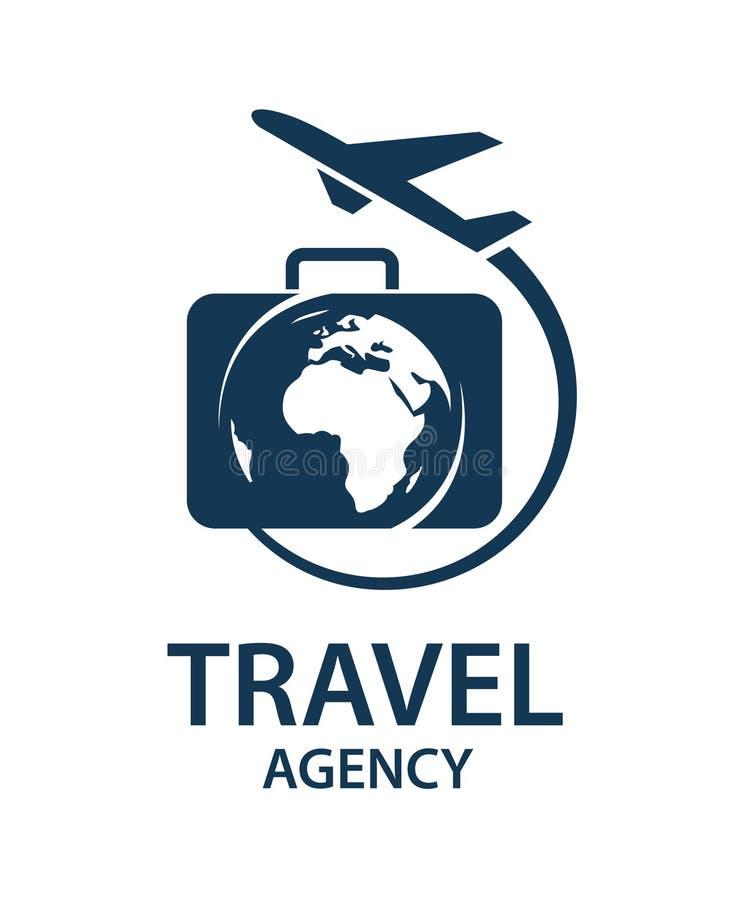 Travel logo image royalty free illustration