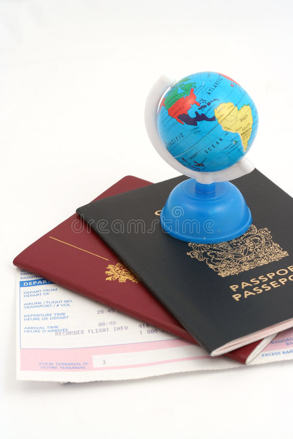 Travel necessities royalty free stock photos