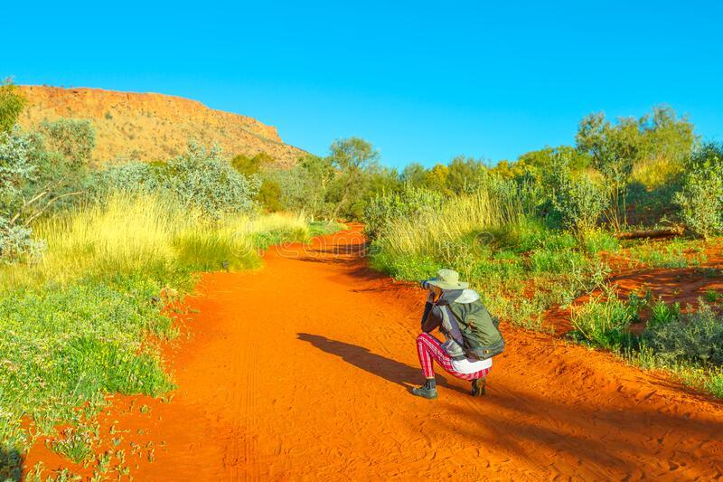 Travel photographer Northern Territory stock images