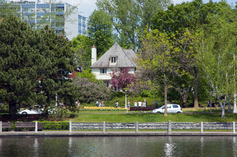 Download Travel by Rideau Canal stock image. Image of building - 24869273