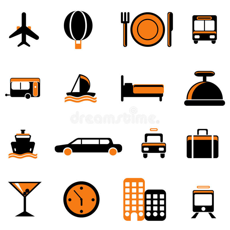 Download Travel service icon stock vector. Image of graphic, balloon - 18366872