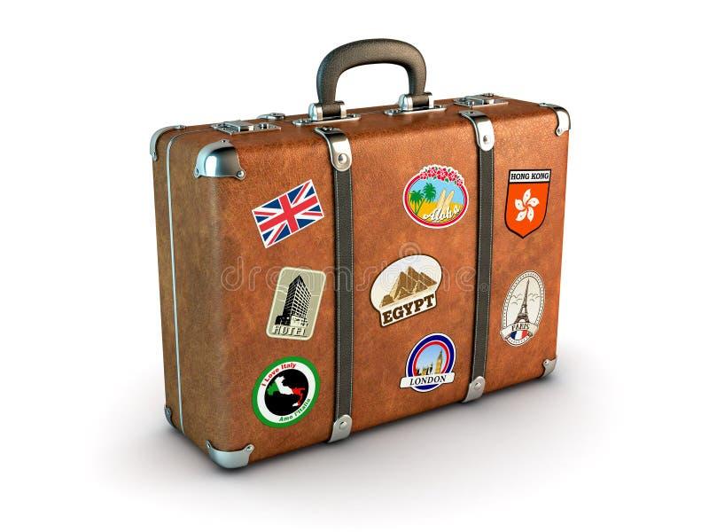 Download Travel Suitcase stock illustration. Illustration of briefcase - 23849886