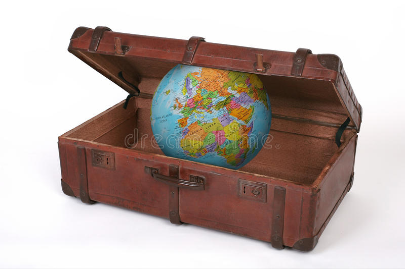 Download Travel suitcase stock image. Image of travel, earth, world - 28707737