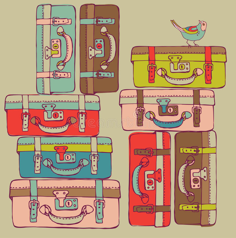 Download Travel Suitcases Royalty Free Stock Image - Image: 16096946