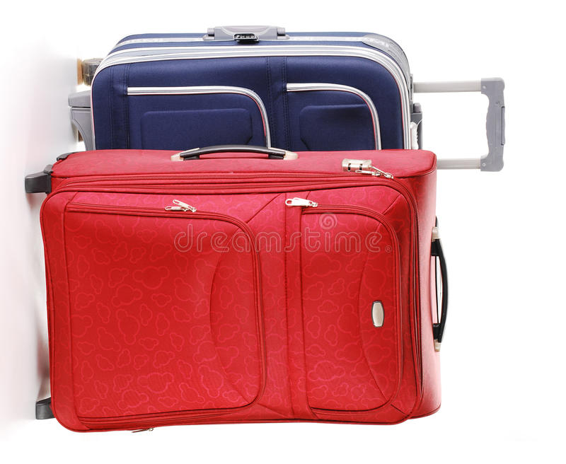 Download Travel Suitcases Isolated On White Stock Images - Image: 17599724