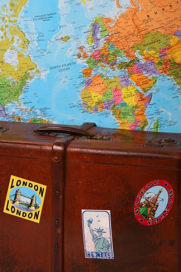 Travel suticase stock photography