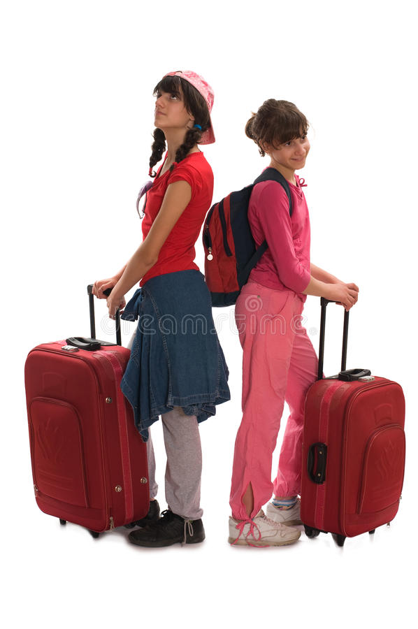 Travel Teenagers Royalty Free Stock Photography
