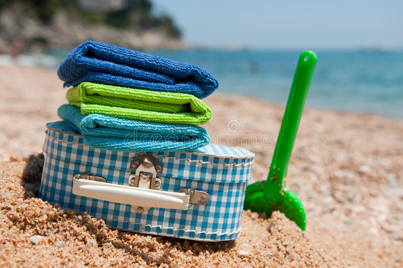 Travel To The Beach Royalty Free Stock Photography