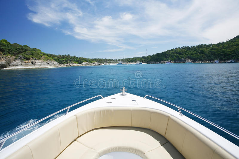 Travel to the islands royalty free stock photography