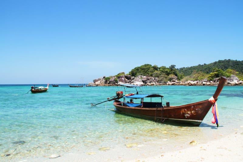 Travel to Lipe Island stock images