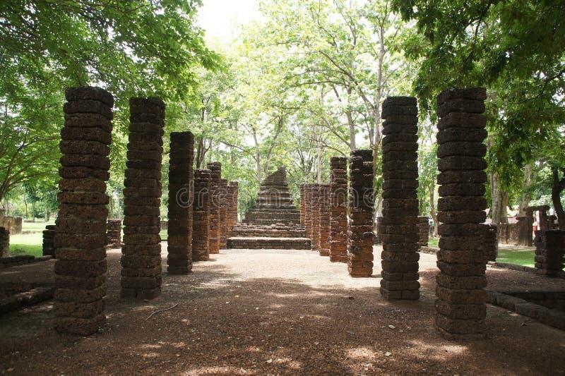 Travel to si satchanalai historical park, sukhothai, thailand. Travel to si satchanalai historical park old city of sukhothai, thailand stock photo