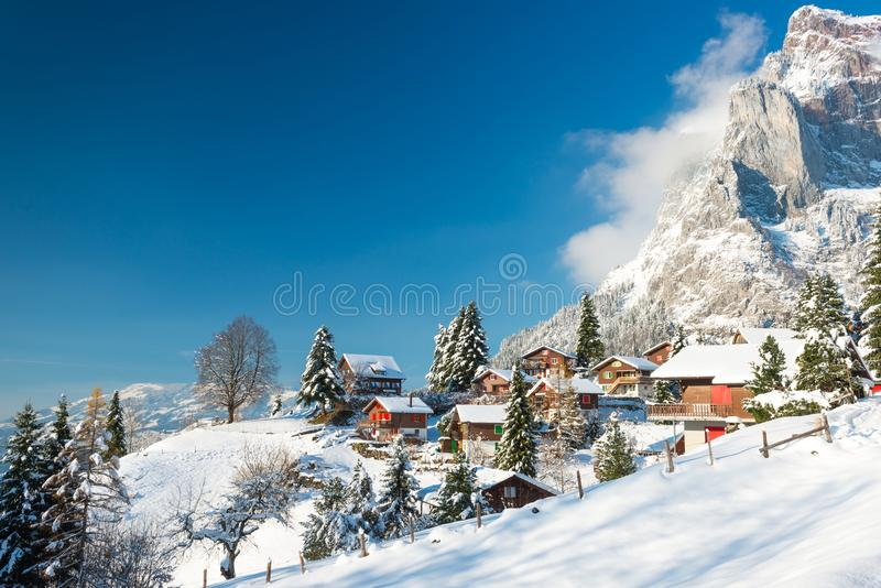 Christmas vacation in Europe. stock photo