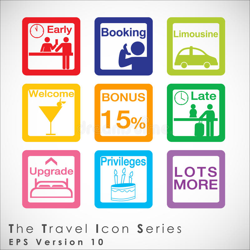 Travel and tourism icon set. vector illustration