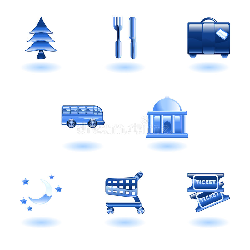 Download Travel And Tourism Icons Stock Images - Image: 9275264