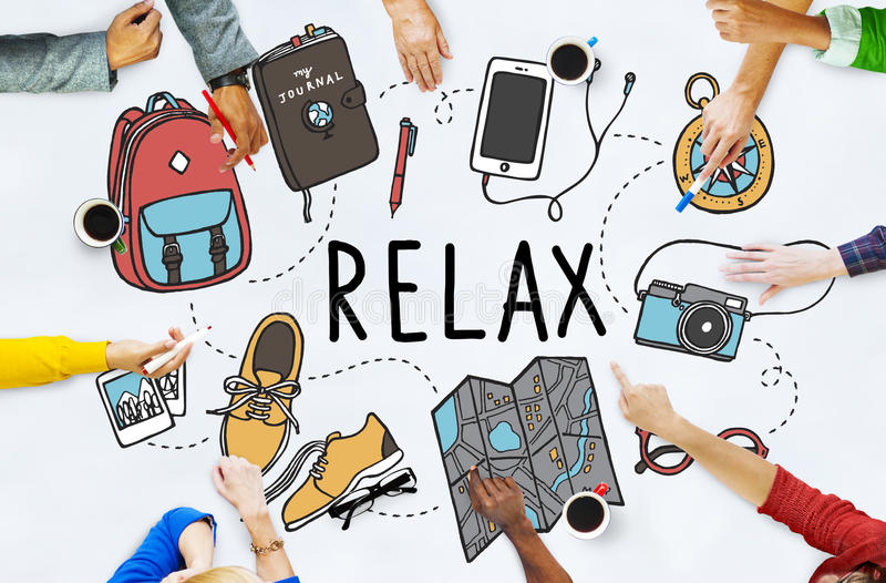 Travel Tourism Journey Relax Concept royalty free stock photography