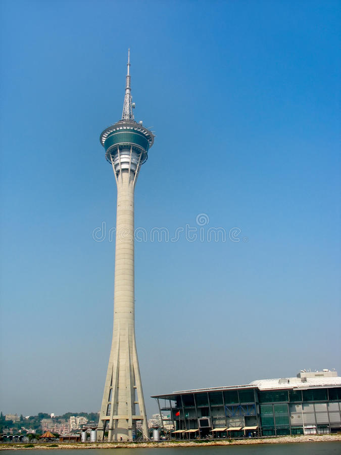 Free Travel Tower In Macao Royalty Free Stock Photo - 21479665