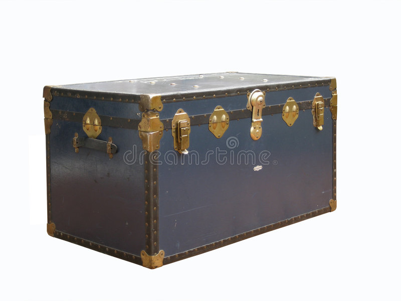 Travel Trunk Royalty Free Stock Photography