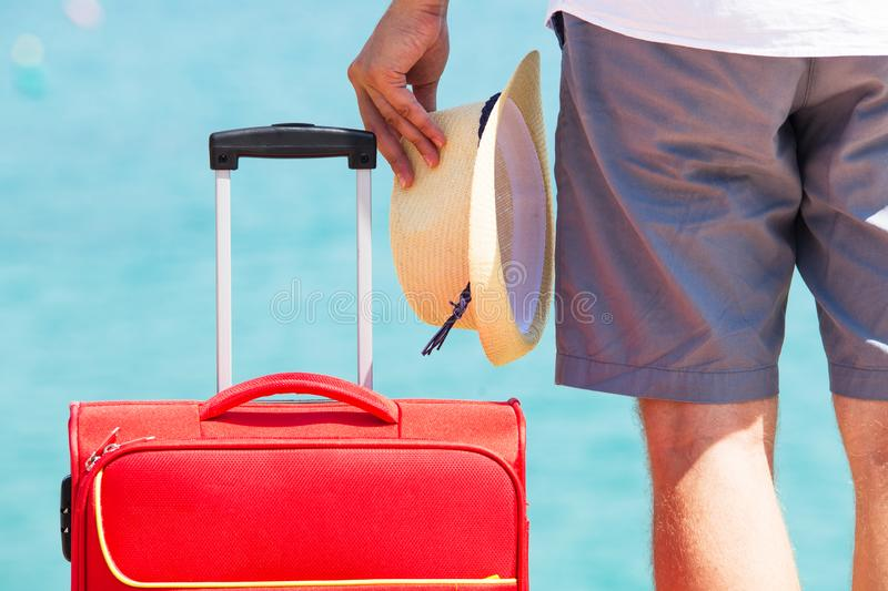 Travel or vacation background royalty free stock images