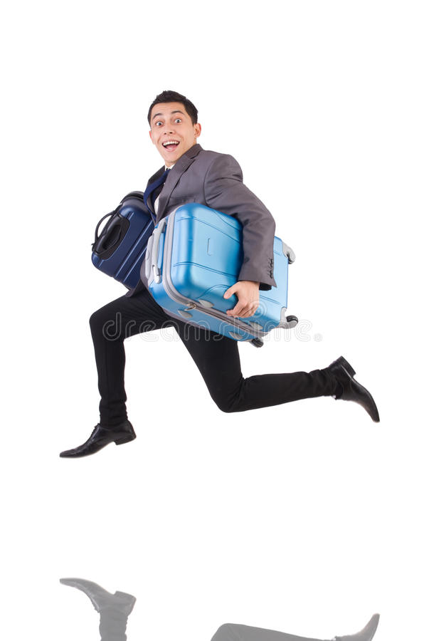 Download Travel Vacation Concept With Luggage Stock Photo - Image of backpack, male: 41118208