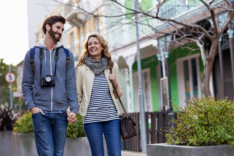 Travel walking city royalty free stock images