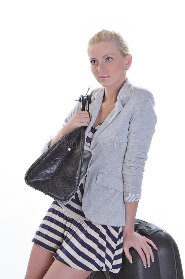 Travel woman stock images