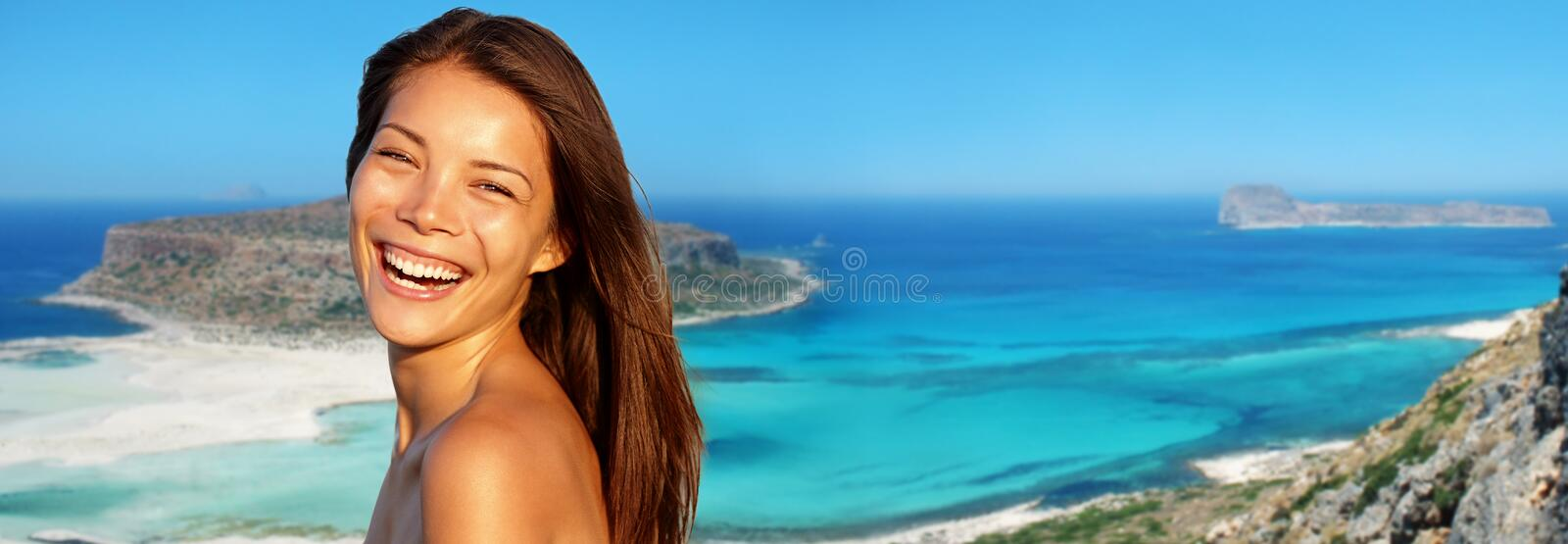 Download Travel woman banner stock photo. Image of header, holidays - 27253716