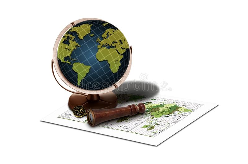 Download Travel the world stock image. Image of nautical, measurement - 19067995