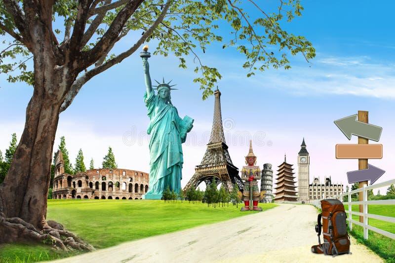 Travel the world royalty free stock photo