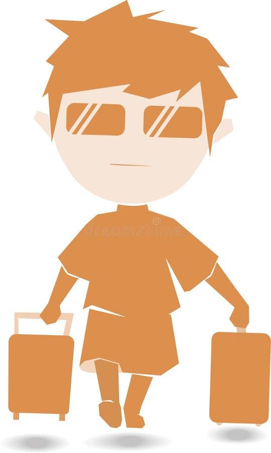 Travelboy stockfotografie