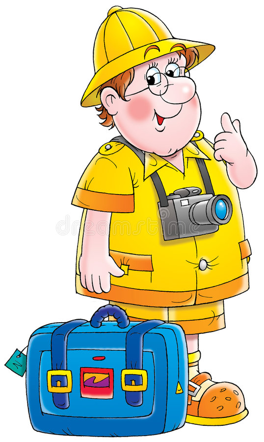 Download Traveler stock illustration. Image of children, camera - 3018052
