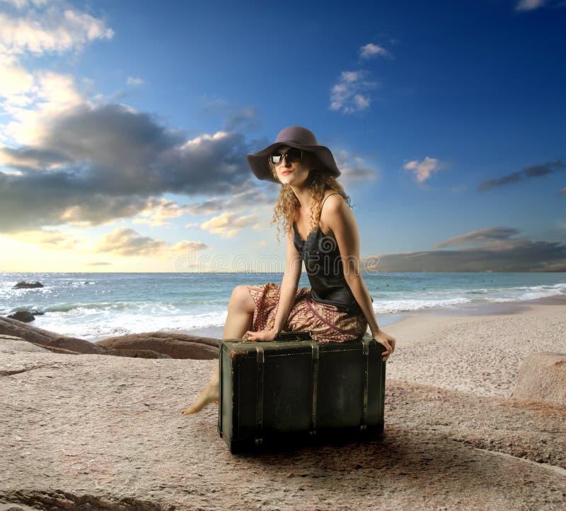 Traveler royalty free stock photography