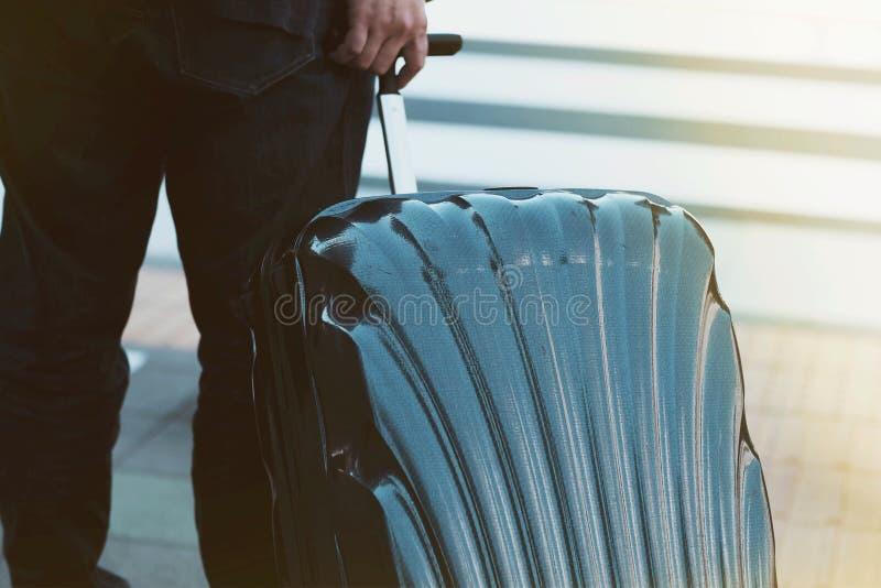 Traveler background concept stock photo
