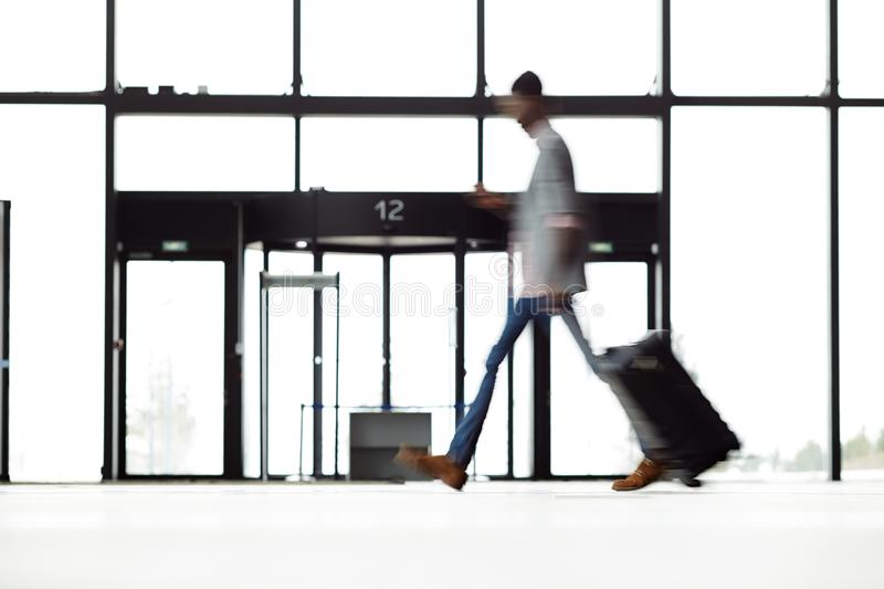 Traveler moving royalty free stock images