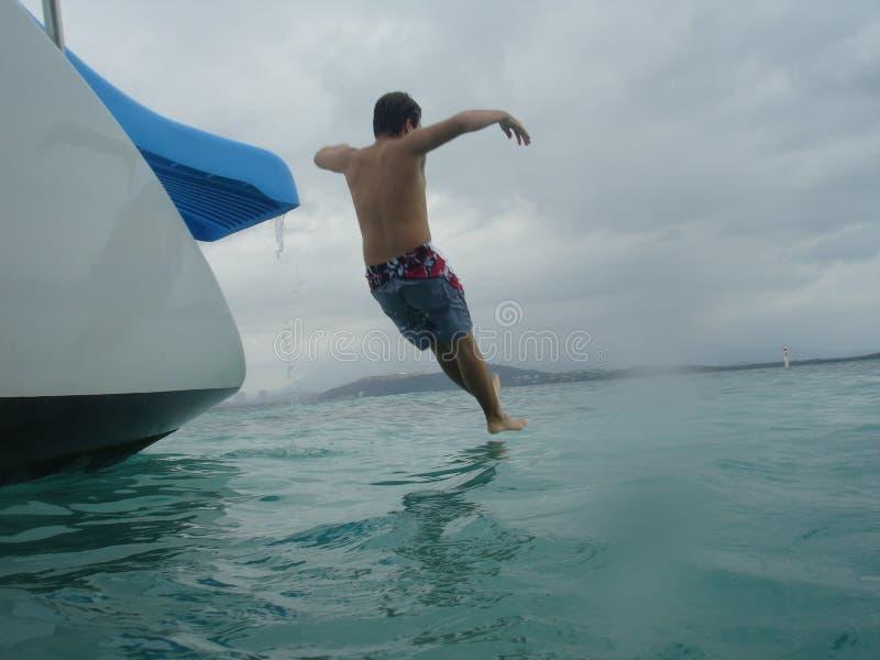 Download Traveler Slides Of Catamaran Caribbean, Puerto Rico Stock Image - Image of happy, resort: 765175