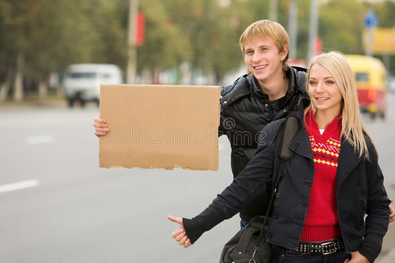 Travelers stock images