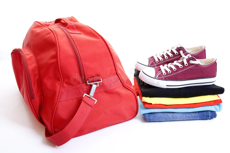 Traveling Bag royalty free stock photo