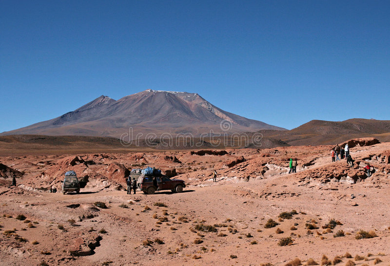 Traveling in Bolivia royalty free stock photography