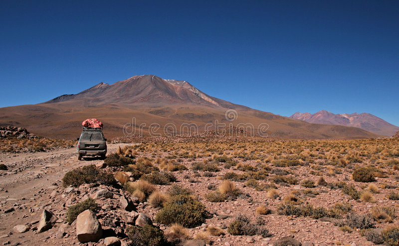 Traveling in Bolivia royalty free stock images