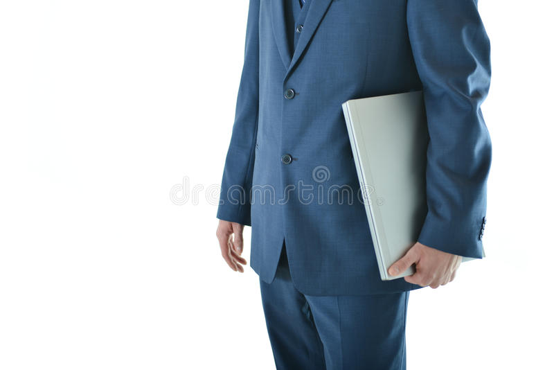 Download Traveling Business Man With Laptop Stock Photo - Image: 83719016