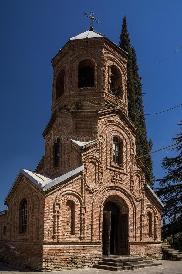 Pantheon Tiflis church tower royalty free stock photography