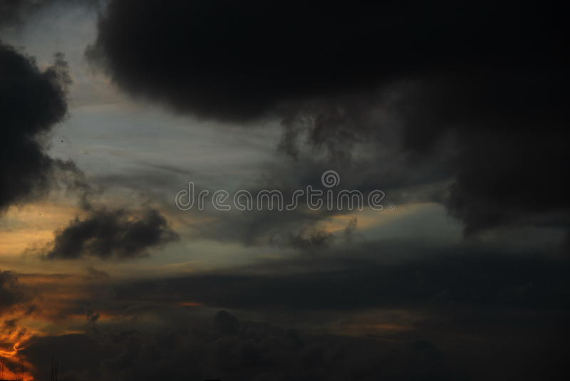 Traveling darkness stock images