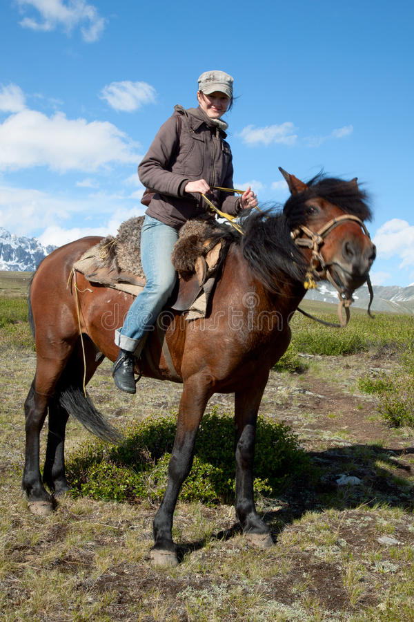 Traveling on horseback