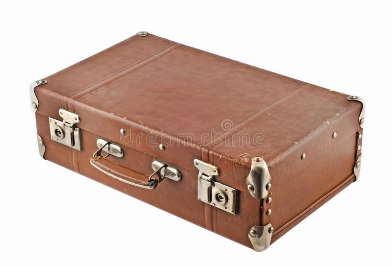 Download Traveling - Old-fashioned Suitcase Stock Image - Image: 11734349