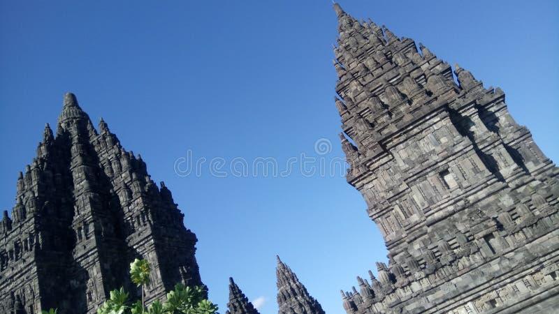 Prambanan tample. Traveling to rambanan tample in yogyakarta royalty free stock images