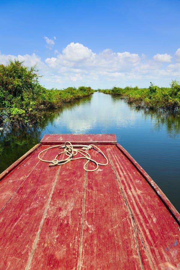 Download Traveling Through Tonle Sap Lake Royalty Free Stock Images - Image: 28853509