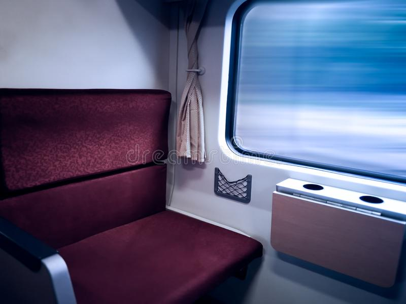 Traveling by train. The view beautiful from the train window. Traveling by train.view beautiful from the train window stock photography