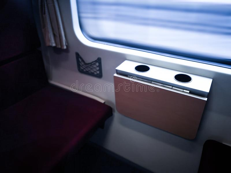 Traveling by train. The view beautiful from the train window. Traveling by train.view beautiful from the train window royalty free stock images